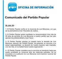 Comunicado-PP-dimision-Barcenas_EDIIMA20130118_0509_13