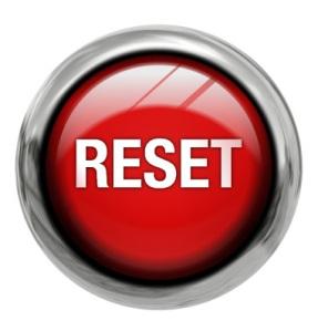 El botón del reset