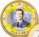 nuevas-monedas-euro-felipe-vi-sexto-rey-de-españa-principe-felipe-2014