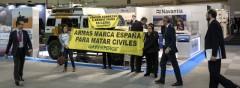 Armas marca España para matar civiles